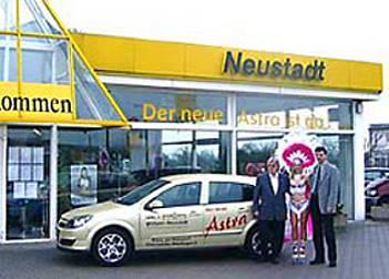 Auftritt im Opel Autohaus Neustadt
